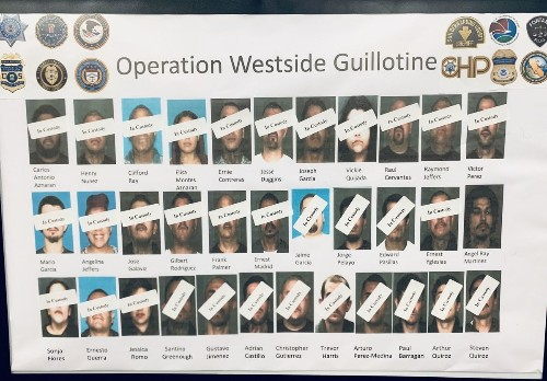 Gang sweep nets 24 arrests on drug and gun charges in San Bernardino