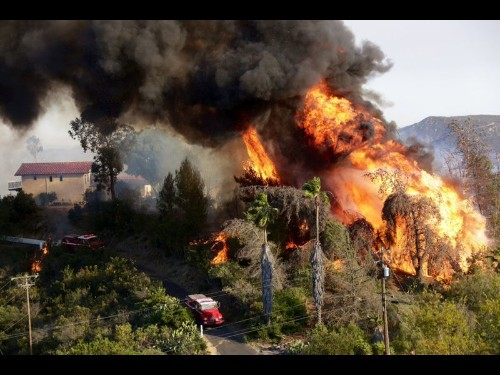 With help from weather, San Diego County fires largely contained