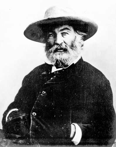 A guide to living a decent life today, courtesy of Walt Whitman