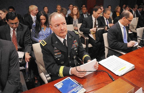 NSA chief's legacy is shaped by big data, for better and worse - Los Angeles Times