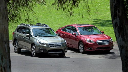 Subaru tells some Legacy and Outback owners: Don't drive them
