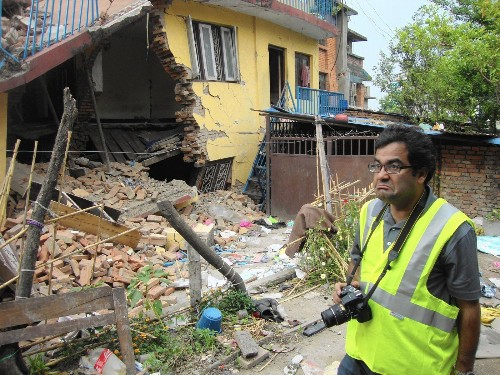 Quake engineer returns to Nepal to learn from disaster