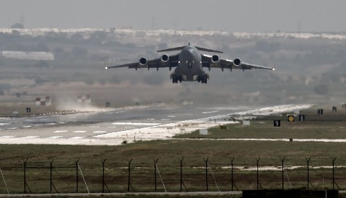 Turkey allows U.S. warplanes to use its base for airstrikes against Islamic State