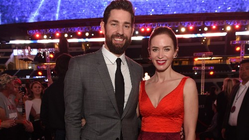 Emily Blunt and John Krasinski are expecting baby No. 2; he weighs in on 'Office' romance