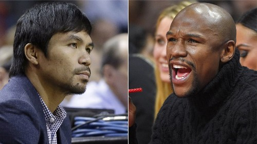 Manny Pacquiao, Floyd Mayweather working together to finalize fight