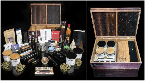 ClubM rolls out a limited-edition luxury-level box of weed goodies for the cannabis connoisseur