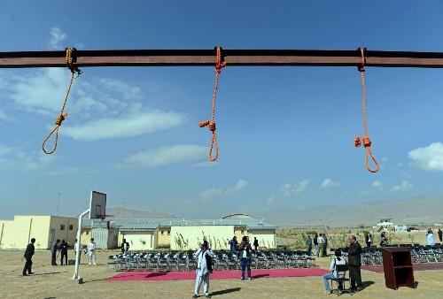 Execution of 5 Afghans in gang rape stirs questions - Los Angeles Times