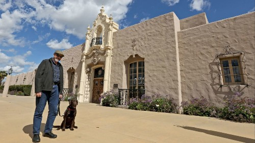 Glendale resident Paul Ayers, silent film location expert, sees the past in the present