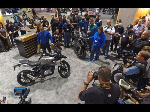Small bikes are the big news at Long Beach motorcycle show