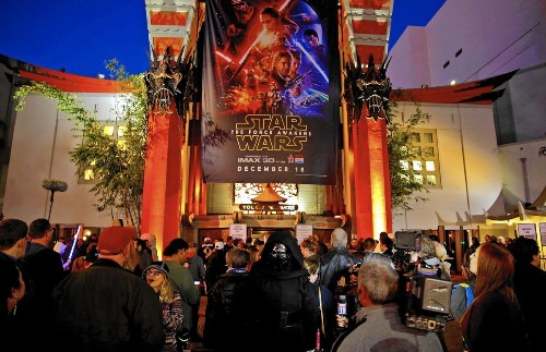 'Star Wars' opens to astronomical sales at box office