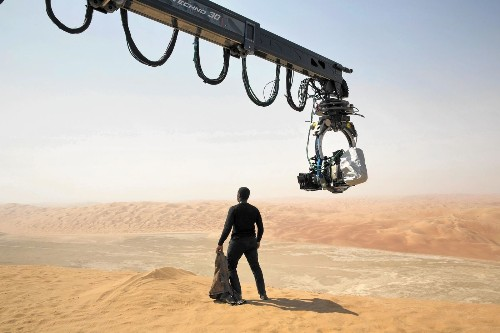The harsh reality of building a 'Star Wars' fantasy in Abu Dhabi - Los Angeles Times