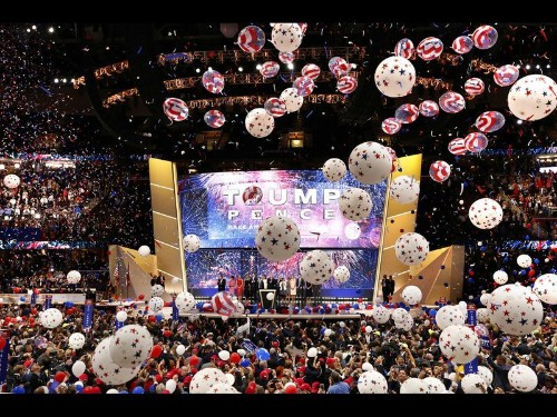 Reality TV: Republicans put on a raucous, celebrity-filled opening convention day