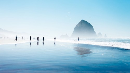 Drive the northern Oregon coast: Haystack rocks, giant dunes and fresh seafood - Los Angeles Times