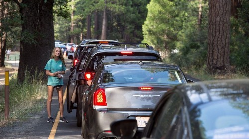 Too many tourists: Crowding is a big headache at national parks and theme parks - Los Angeles Times