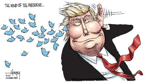 Smack-talking Trump tweets his way toward legal trouble