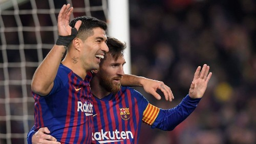 Playing alongside Lionel Messi has filled a hunger in Luis Suarez