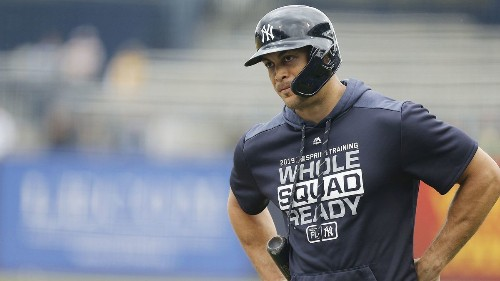 Giancarlo Stanton's supposedly down first Yankees season wasn't bad