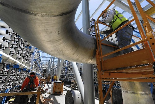 San Diego is a salt mover and shaker in desalination campaign - Los Angeles Times