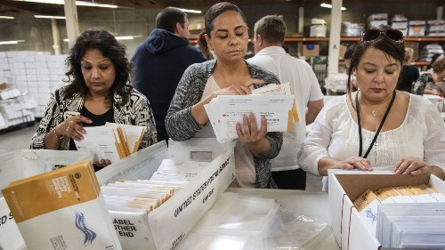 GOP Rep. Denham falls behind Democrat as 3 other Republicans lose ground in Friday's ballot tally - Los Angeles Times