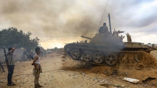 Libya's two wars: One on the battlefield and one on Facebook