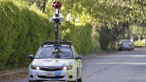 Google Earth car scorched by incendiary devices - Los Angeles Times