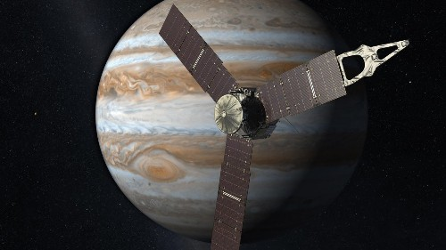 As it closes in on Jupiter, NASA's Juno spacecraft faces peril - Los Angeles Times