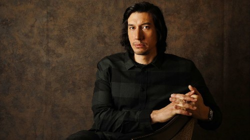 Adam Driver talks 'Burn This,' uncomfortable theater and why 'self-doubt is where I live'