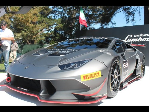 2014 Pebble Beach: Lamborghini debuts Huracan Super Trofeo at Quail