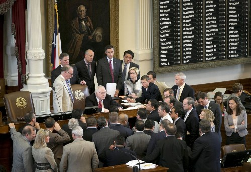 Texas poised to pass open-carry handgun law