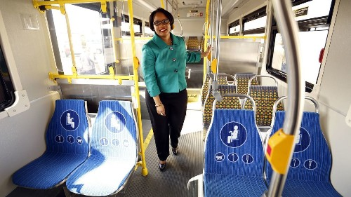 Metrolink hires its first black, female chief executive: MTA's Stephanie Wiggins - Los Angeles Times