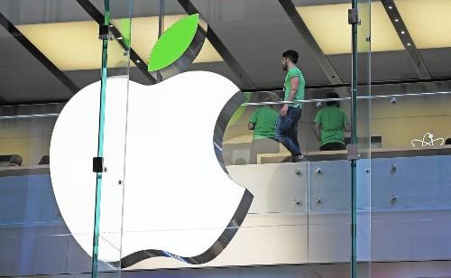 Apple's green initiative offers a smidgen of hope - Los Angeles Times