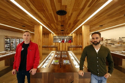 Marijuana shops are trying to look like the Apple store