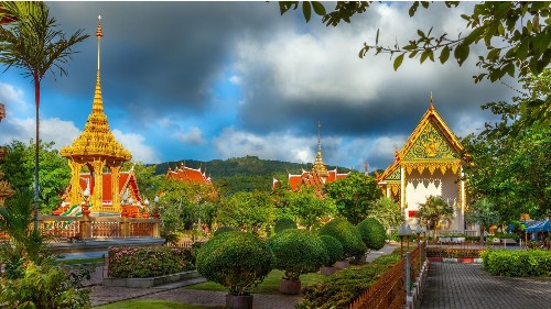In Phuket, Thailand, a Buddhist temple can be more relaxing than the beach
