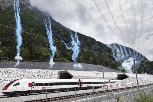 After 17 years and $12 billion, Switzerland inaugurates world's longest rail tunnel
