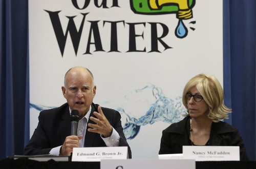 Gov. Brown says fixing delta water system important for entire state