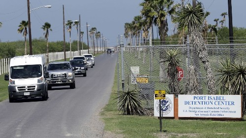 Impact of 'zero tolerance' on display in Texas immigration court. One after another, asylum seekers are ordered deported
