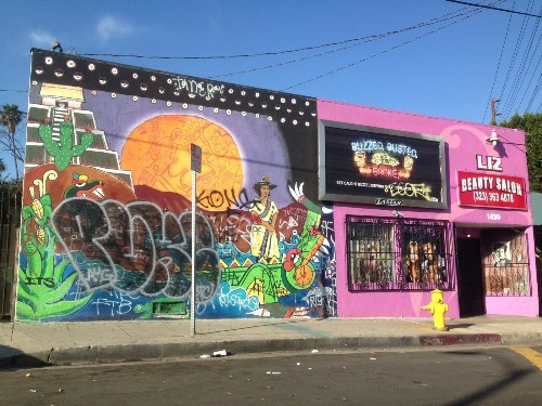 L.A. councilman calls for stiffer penalties in graffiti cases - Los Angeles Times