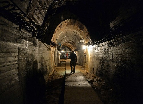Polish authorities seal off area believed to hide lost Nazi gold train