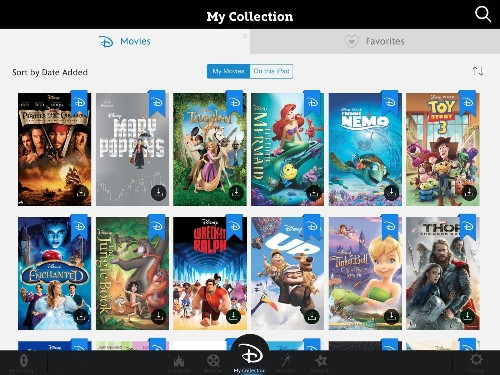 Disney launches cloud-based film service Disney Movies Anywhere