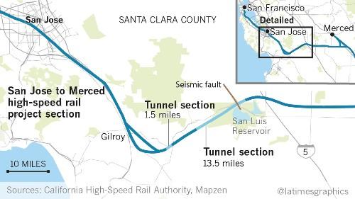 A 13.5-mile tunnel will make or break California's bullet train