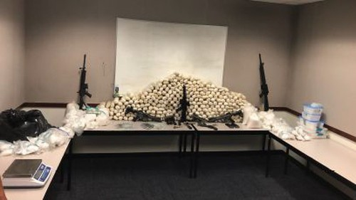 500 pounds of meth seized during cartel investigation in Southern California