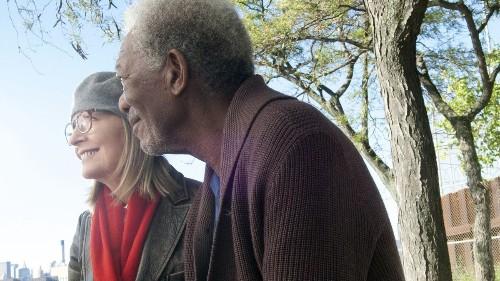 Review: Diane Keaton, Morgan Freeman take 'Flight' in adult dramedy