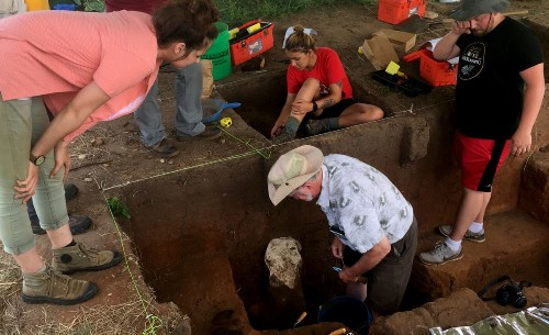 Archaeologists explore a rural field in Kansas, and a lost city emerges