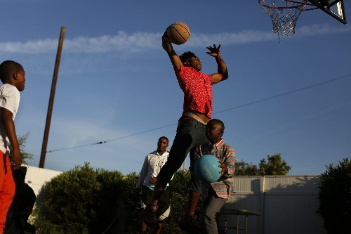 Dominguez High freshman multi-sport standout Sean Harlston stays true to his Compton roots - Los Angeles Times