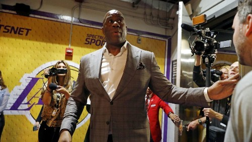 Magic Johnson continues to tarnish the Lakers' and his legacy