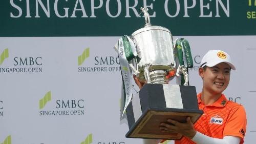Golf: Alvaro Ortiz qualifies for Masters; Janewattananond wins in Singapore - Los Angeles Times