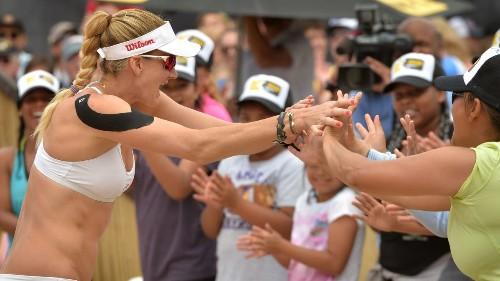 Around Town: Beach volleyball star Kerri Walsh Jennings sponsors 25 new courts in H.B.