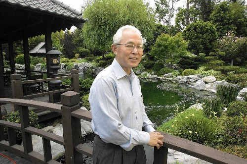 Takeo Uesugi dies at 75; landscape architect restored Huntington Library's Japanese Garden