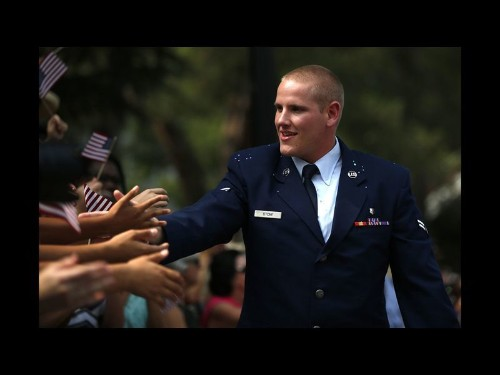 France train attack hero Spencer Stone recovering after stabbing in Sacramento
