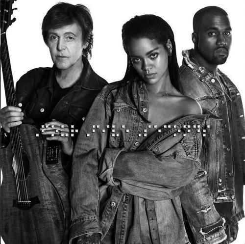 Rihanna's weird 'FourFiveSeconds' builds excitement for new album